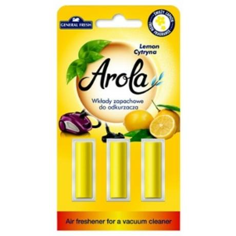 Arola Porszívó illat rudak -  lemon - darab ár(24db-tól a termék darab ára; 330-ft)