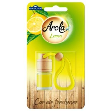 Arola Autós szélvédő illatosító 5ml - lemon - darab ár(14db-tól a termék darab ára 545-Ft)