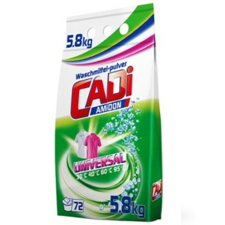 Cadi - Mosópor - 5,8kg - Universal (72mosás) - Darab Ár